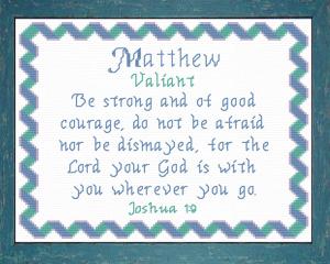 name blessings - matthew 4