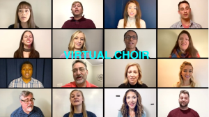 how great is our god for 4 part satb a cappella virtual choir