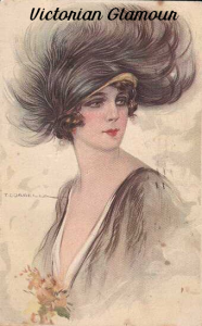185 Beautiful Victorian Glamour Illustrations | Photos and Images | Vintage