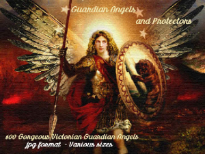 600 vintage guardian angels and protectors