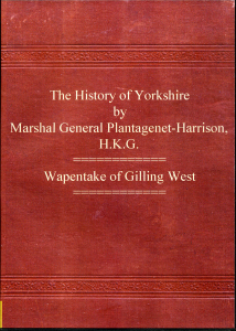 The History of Yorkshire   eBooks   Reference