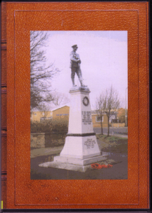 cenotaphs in the wakefield area