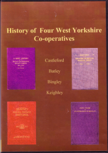 the history of the co-op in west yorkshire