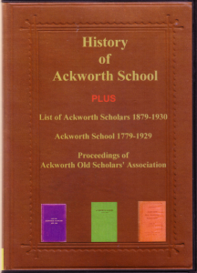 history of ackworth school during its first hundred years.