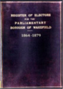 register of electors 1864 to 1879 wakefield