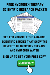 hydrogen therapy scientific research packet