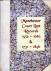 manchester court leet records 1552-1686 & 1731-1846.