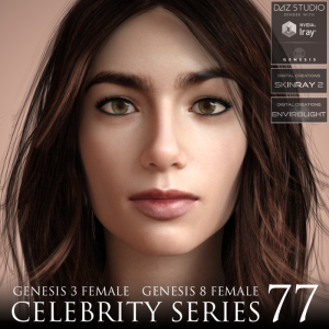 Celebrity Series 77 for Genesis 3 and Genesis 8 Female | Software | Design