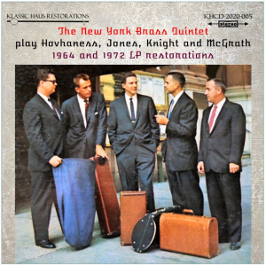 The New York Brass Quintet play Hovhaness, Jones, Knight and McGrath | Music | Classical