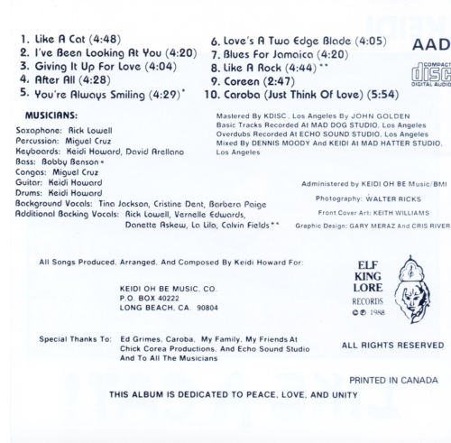 First Additional product image for - Keidi, Like A Cat! - 1988 Album