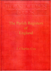 the parish registers of england