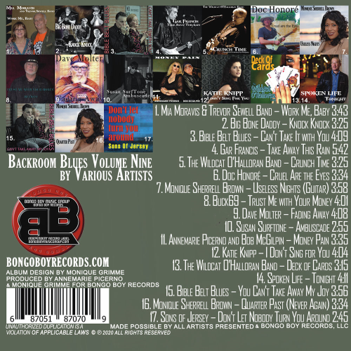 First Additional product image for - Backroom Blues Vol. Nine