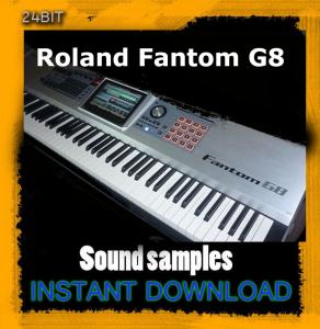 roland fantom g8 sound samples multi format