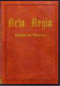 Acta Regia | eBooks | Reference