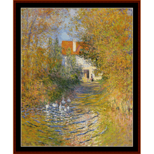 The Duck Pond II - Monet cross stitch pattern by Cross Stitch Collectibles | Crafting | Cross-Stitch | Other