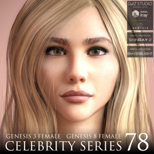 Celebrity Series 78 for Genesis 3 and Genesis 8 Female | Software | Design