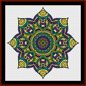 Mandala 62 (Large) cross stitch pattern by Cross Stitch Collectibles | Crafting | Cross-Stitch | Other