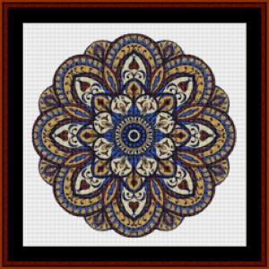 Mandala 65 (Small) cross stitch pattern by Cross Stitch Collectibles   Crafting   Cross-Stitch   Other
