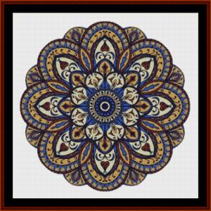 Mandala 65 (Large) cross stitch pattern by Cross Stitch Collectibles | Crafting | Cross-Stitch | Other