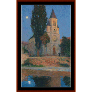 Moon Over Labastide – Henri Martin cross stitch pattern by Cross Stitch Collectibles | Crafting | Cross-Stitch | Other