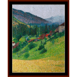 Heights of Labastide – Henri Martin cross stitch pattern by Cross Stitch Collectibles | Crafting | Cross-Stitch | Other