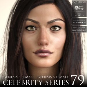 Celebrity Series 79 for Genesis 3 and Genesis 8 Female | Software | Design