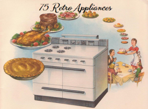 75 large mid-century housewife's kitchen helper graphics