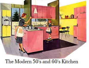 50 retro kitchens
