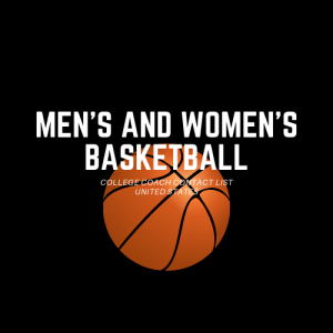 men's & women's basketball college coach contact list