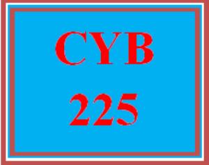 CYB 225 Wk 5 - Apply: Live Virtual Machine Labs | eBooks | Education