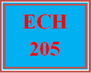ECH 205 Wk 1 Early Childhood Education Classrooms | eBooks | Education