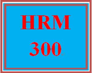 hrm 300t wk 4 - practice: week 4 practice assignment