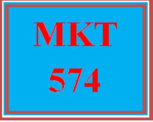 MKT 574 Wk 6 - Apply: Signature Assignment: Part C – Strategic Marketing Plan | eBooks | Education
