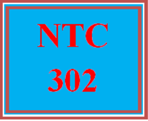 NTC 302 Wk 3 - Apply: Lab Exercise and Reflection   eBooks   Education