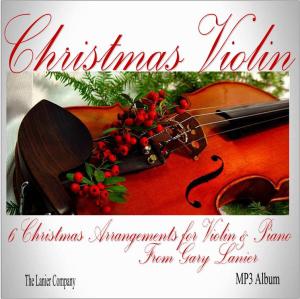 christmas violin arranged by gary lanier, mp3 album