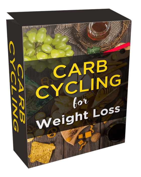 First Additional product image for - Ultimate Carb Cycling For Weight Loss