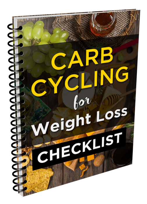 Second Additional product image for - Ultimate Carb Cycling For Weight Loss