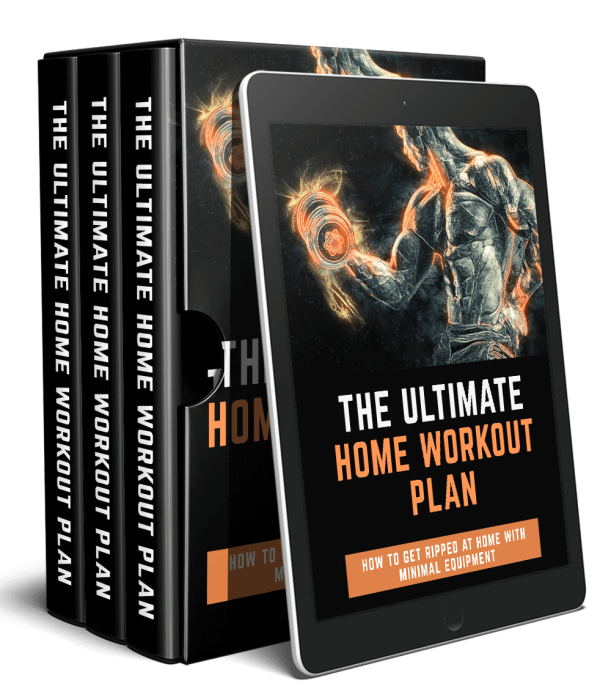 Fourth Additional product image for - The Ultimate Home Workout Plan - How To Get Ripped At Home With Little To No Equipment