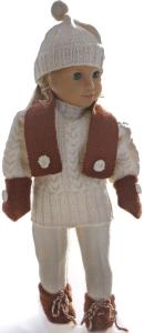 dollknittingpatterns 0040d kirsten - pull, bonnet, pantalon de ski, chaussures, écharpe et moufles-(francais)
