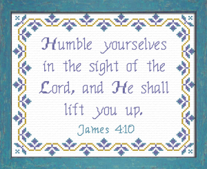 Humble Yourselves | Crafting | Cross-Stitch | Other