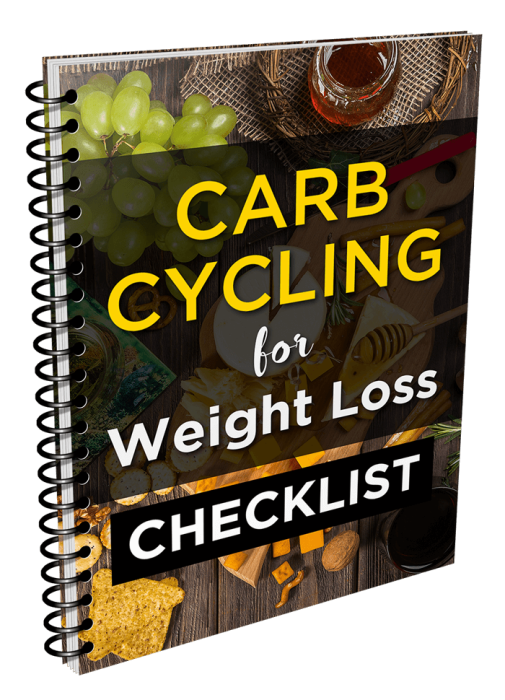 Second Additional product image for - 2021 Ultimate Carb Cycling For Weight Loss