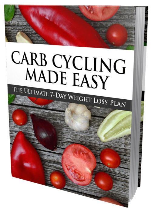 Third Additional product image for - 2021 Ultimate Carb Cycling For Weight Loss