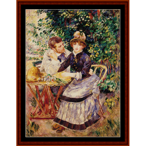 In the Garden, 2nd edition - Renoir cross stitch pattern by Cross Stitch Collectibles | Crafting | Cross-Stitch | Other