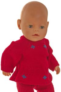 dollknittingpatterns - 2020d weihnachtsgruss - kurzarmpulli-(deutsch)