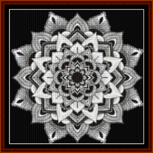 Mandala 3 (Small) cross stitch pattern by Cross Stitch Collectibles | Crafting | Cross-Stitch | Other