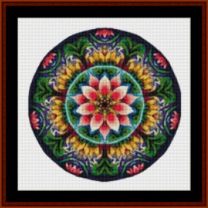 Mandala 11 (Small) cross stitch pattern by Cross Stitch Collectibles | Crafting | Cross-Stitch | Other