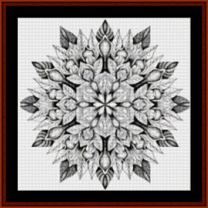 Mandala 13 (Small) cross stitch pattern by Cross Stitch Collectibles | Crafting | Cross-Stitch | Other