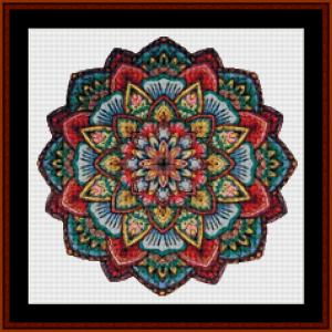 Mandala 16 (Small) cross stitch pattern by Cross Stitch Collectibles   Crafting   Cross-Stitch   Other