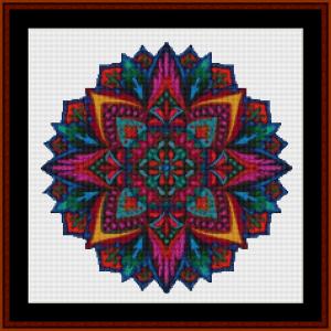 Mandala 19 (Small) cross stitch pattern by Cross Stitch Collectibles   Crafting   Cross-Stitch   Other