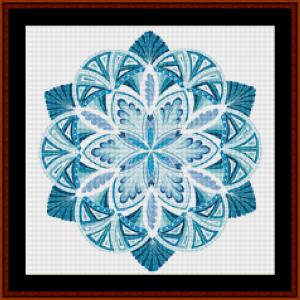 Mandala 21 (Small) cross stitch pattern by Cross Stitch Collectibles | Crafting | Cross-Stitch | Other